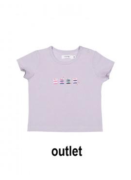 t-shirt party lila P'tit Filou  zomer 2019