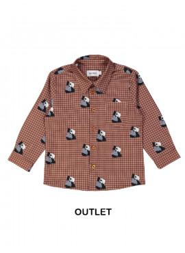 hemd panda brunette Filou&Friends