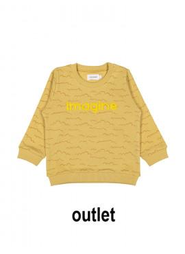 sweater clouds oker Filou&Friends zomer 2019