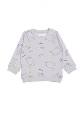 sweater grrr bear grijs Filou&Friends zomer 2019