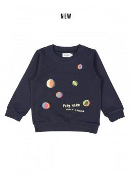sweater play donkerblauw Filou&Friends zomer 2019