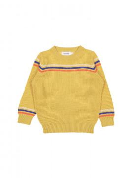 pull tricot cyclo oker Filou&Friends zomer 2019