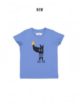 t-shirt apple rhino blauw Filou&Friends zomer 2019