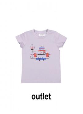 t-shirt gas station lila Filou&Friends zomer 2019