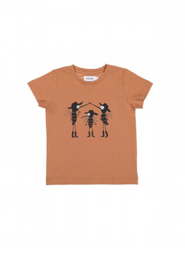 t-shirt three mosquitos roest Filou&Friends zomer 2019