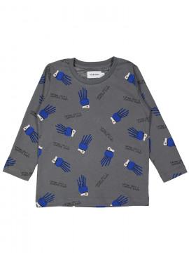 t-shirt occy seafood grijs Filou&Friends