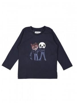 t-shirt dudes blauw Filou&Friends