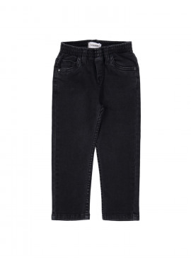 broek jeans boy regular zwart Filou&Friends
