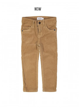 broek slim rib camel Filou&Friends