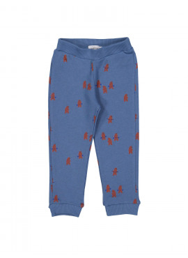 comfy broek power bears blauw Filou&Friends