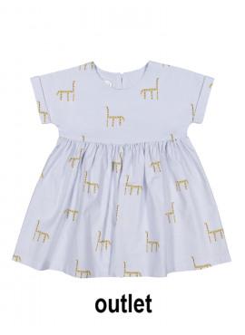 kleed skinny giraffes lichtblauw Filou&Friends zomer 2019