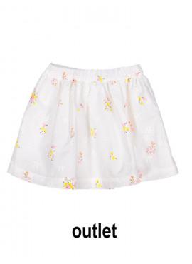 rok spring flowers wit Filou&Friends zomer 2019