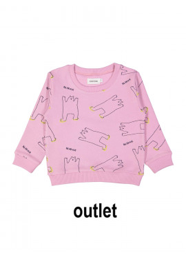 sweater grrr bear roze Filou&Friends zomer 2019