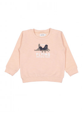 sweater dumbodog lichtroze Filou&Friends zomer 2019