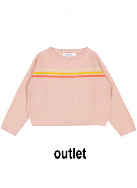 pull tricot olympia roze Filou&Friends zomer 2019