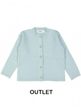 gilet tricot soft lichtblauw Filou&Friends