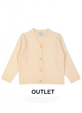 gilet tricot v soft lichtroze Filou&Friends