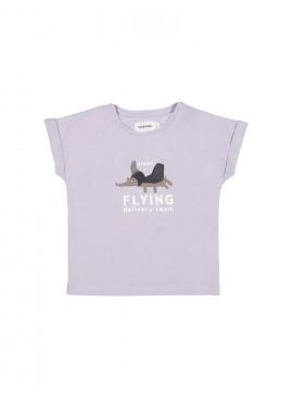 t-shirt dumbodog lila Filou&Friends zomer 2019