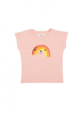t-shirt rainbow roze Filou&Friends zomer 2019