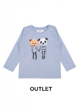 t-shirt best friend blauw Filou&Friends