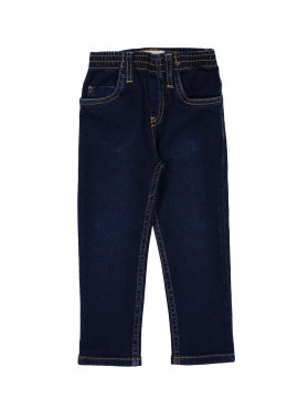 broek jeans girl regular donkerblauw Filou&Friends