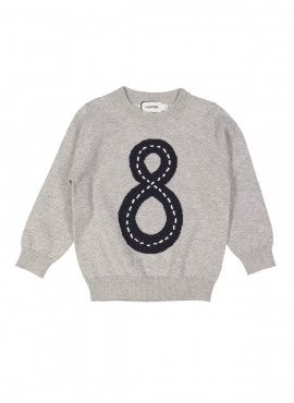 pull tricot highway grijs Filou&Friends