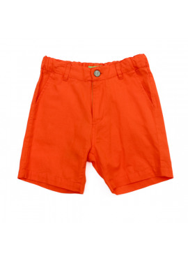 bermuda  Astor   Cotton Twill Red Orange  Lily-Balou zomer 2019