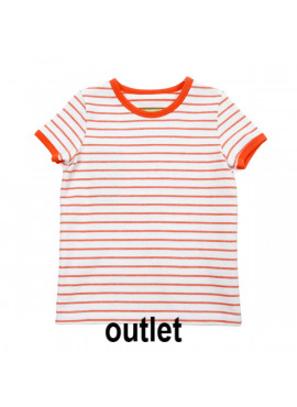 t-shirt  Billie   Striped Red Orange  Lily-Balou zomer 2019