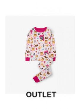 Sweet Breakfast Organic Cotton Pajama Set Hatley winter 2018