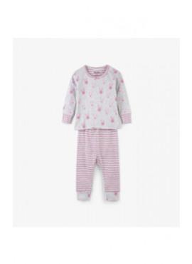 Funny Bunnies Organic Cotton Baby Pajama Set Hatley winter 2018