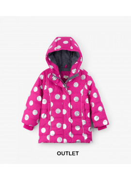 Metallic Dots Fleece Lined Puffer Coat Hatley winter 2018