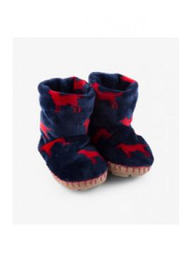 Red Labs Fleece Slippers Hatley winter 2018