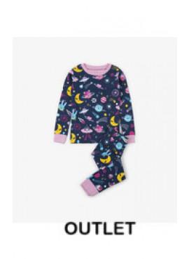Animal Cosmos Glow Organic Cotton Pajama Set Hatley winter 2018
