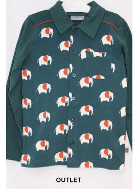 hemd eppo olifant groen Froy&Dind winter 2018
