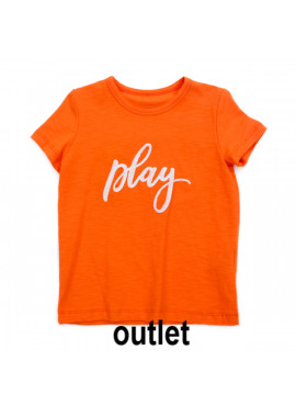 t-shirt  Louis   Slub Jersey Red Orange Lily-Balou zomer 2019