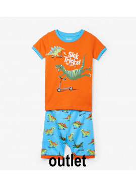 pyjama Scooting Dinos Applique Organic Cotton Hatley zomer 2019