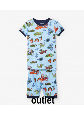 pyjama Sea Monsters Organic Cotton  Hatley zomer 2019