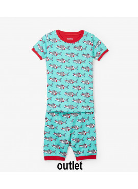 pyjama Snorkeling Sharks Organic Cotton  Hatley zomer 2019
