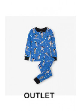 Athletic Astronauts Glow Organic Cotton Pajama Set Hatley winter 2018