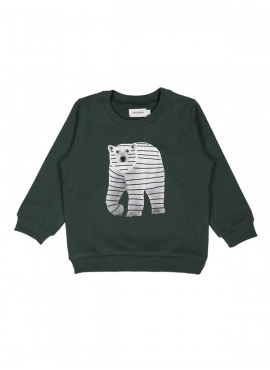 sweater polar bear groen Filou&Friends