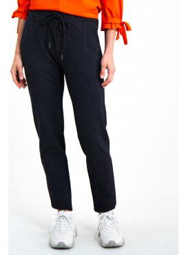 Comfy broek met witte stipjes