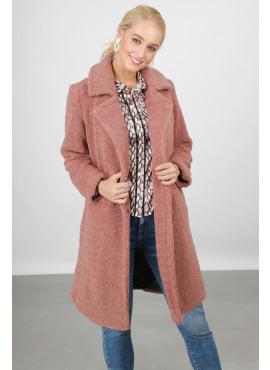 Long teddy coat van Geisha 98505