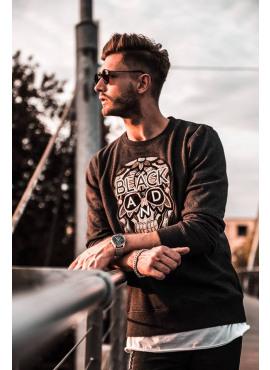 Sweater van het merk Black&Gold - craneo NERO