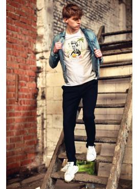 t-shirt van black&gold - TS61