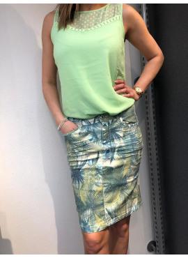 TRAMONTANA skirt leaves