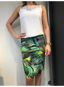 Rok van TRAMONTANA - skirt jungle print
