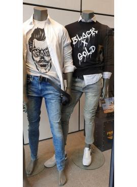 t-shirt van black&gold - TS62