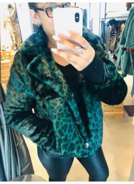 Short coat printed fur van Geisha 98509