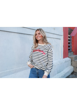 Sweater van Colourful Rebel - Madame stripes