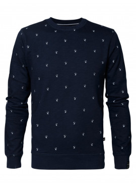Sweater r-neck van Petrol - SWR365